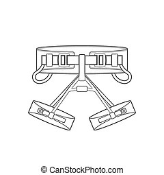 Safety harness Vector Clipart Illustrations. 208 Safety