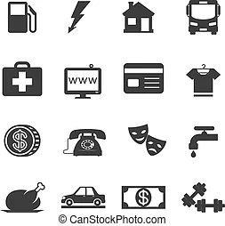 Monthly expenses Stock Illustration Images. 67 Monthly