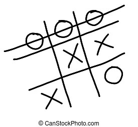 Noughts and crosses Illustrations and Clipart. 111 Noughts