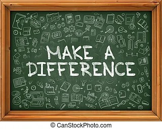 making difference illustrations