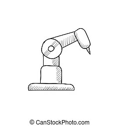 mechanized illustraties en clip