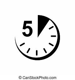 5 minutes Clipart and Stock Illustrations. 631 5 minutes