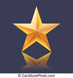 shining star clipart and stock