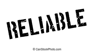 Support and reliability words Vector Clipart Illustrations