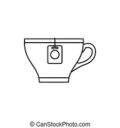 Teabag Clipart and Stock Illustrations. 977 Teabag vector