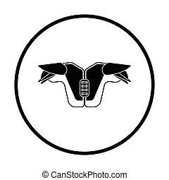 Shoulder pad Vector Clipart EPS Images. 95 Shoulder pad