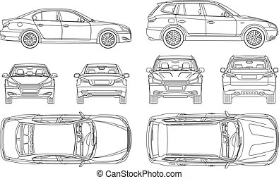Insurance inspection Vector Clipart EPS Images. 154