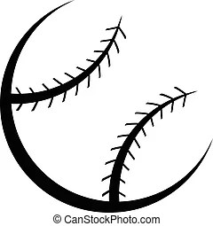 Clipart Vector of Fast Pitch Softball Pitcher Vector