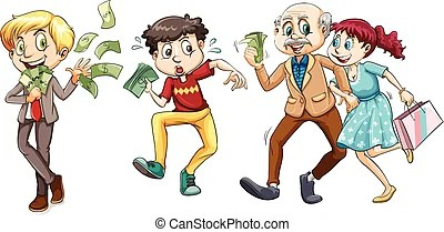 Lots of money Clip Art and Stock Illustrations 1357 Lots