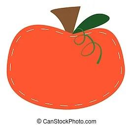 orange pumpkin clipart vector graphics