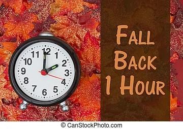 daylight savings time illustrations