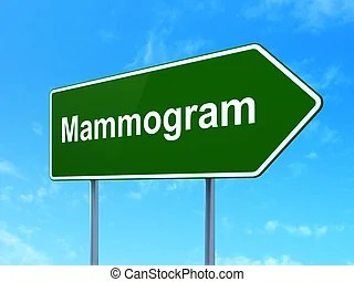 mammogram sign clip art and stock