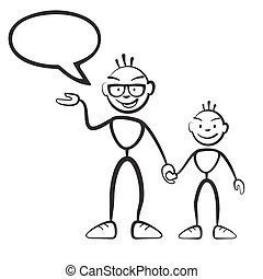 Vater und sohn smiley Vektor Clip Art EPS Bilder. 18 Vater
