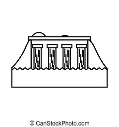 Hydroelectric Clip Art and Stock Illustrations. 1,266
