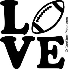 Download Love football Clipart Vector and Illustration. 848 Love ...