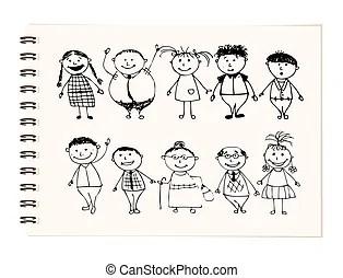 Cliparts et Illustrations de Famille. 153 086 dessins et