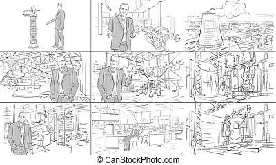 Storyboard Illustrations and Stock Art. 532 Storyboard