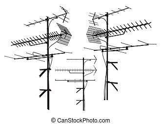 Cable television Clipart and Stock Illustrations. 1,715
