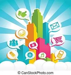 Metropoli Illustrazioni e clipart222955 Metropoliillustrazioni e disegni royalty free
