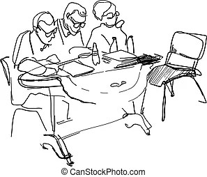 Committee Illustrations and Clip Art. 357 Committee