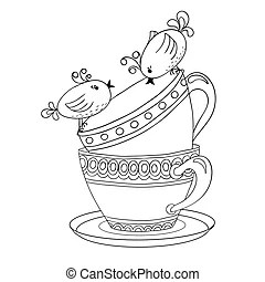 Teacup Clipart and Stock Illustrations. 9,564 Teacup