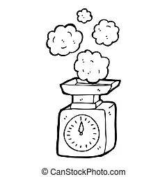 Weighing scales Clip Art and Stock Illustrations. 9,742