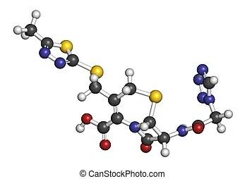 Cefuroxime second generation cephalosporin antibiotic