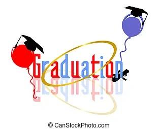 graduation ballons celebration