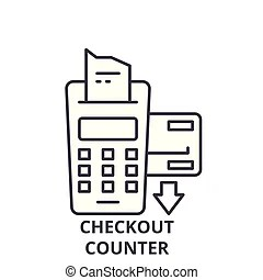 Checkout counter Clipart and Stock Illustrations. 1,961