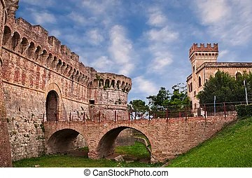 Colle di val d39elsa siena tuscany italy the ancient