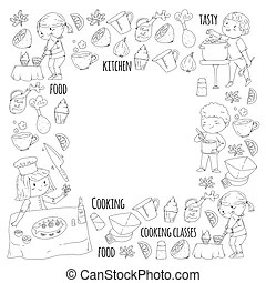 Cooking class Stock Illustrations. 1,227 Cooking class