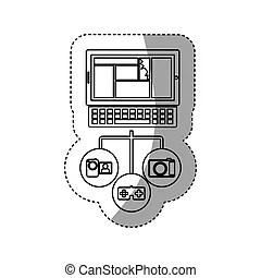 Database server Clip Art Vector Graphics. 12,063 Database