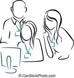 Consultation Stock Illustration Images. 20,186