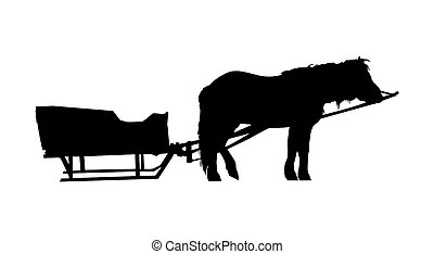 Horse sleigh Illustrations and Clip Art. 349 Horse sleigh
