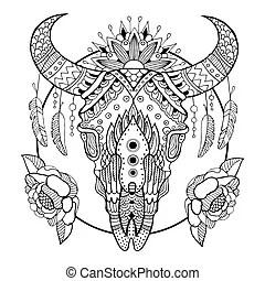 Cow skull Illustrations and Clip Art. 940 Cow skull