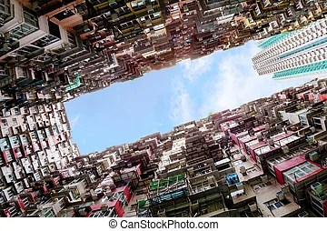 Hong kong's highrise toothpick apartments. Hong kong's serious land shortage resulted in developers building tall and thin apartments known as ...