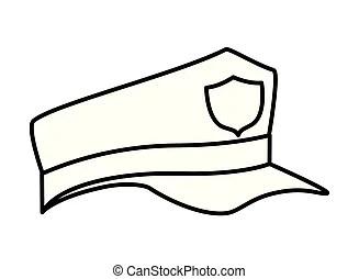Police hat Vector Clip Art EPS Images. 6,761 Police hat