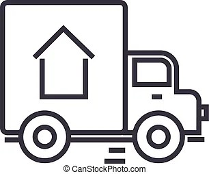 Delivery, food, free delivery, courier, truck, pizza