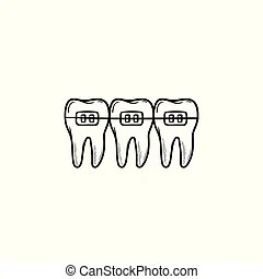 Dental braces Vector Clip Art EPS Images. 2,977 Dental