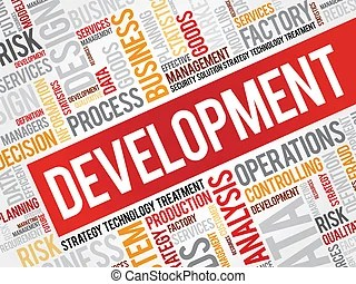 People development process business concept clip art