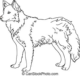 Sled dog Clipart and Stock Illustrations. 396 Sled dog