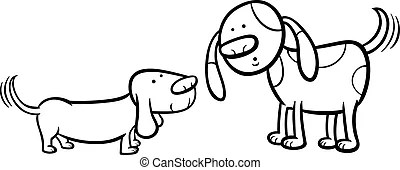 Wag tail Illustrations and Clip Art. 234 Wag tail royalty