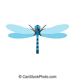 damselfly clip art vector and illustration