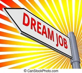 dream job clip art and stock illustrations