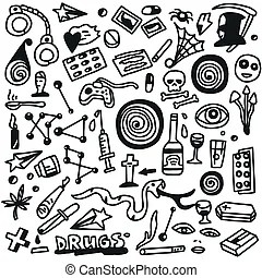 Methamphetamine Illustrations and Clipart. 137