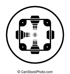 Junction box Stock Photo Images. 888 Junction box royalty