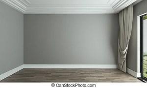 empty background interior resolution 3d texture curtain rendering