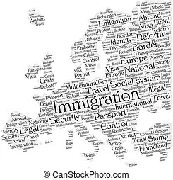 Immigration and emigration migration migrate to or from