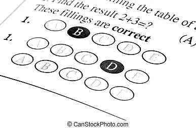 Answer sheet Stock Photos and Images. 1,878 Answer sheet