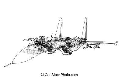 Fighter plane Vector Clipart EPS Images. 3,957 Fighter